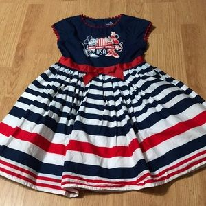 Disney Parks Girls Dress 🇺🇸Mickey & Minnie Mouse